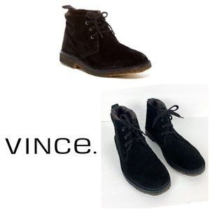 Vince Candice Genuine Dyed Shearling Chukka Boot